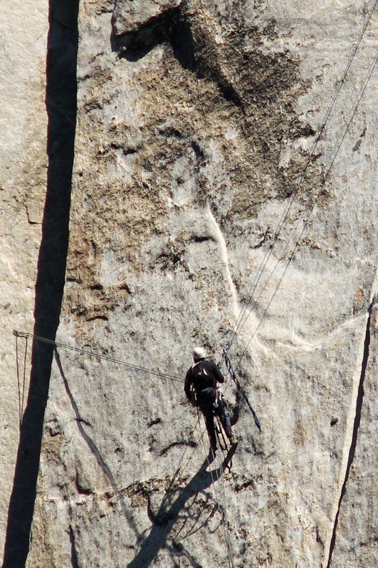 Stuart on The Nose, El Capitan, Yosemite