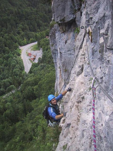 Matt on VF du Mont Haute Savoie 2005