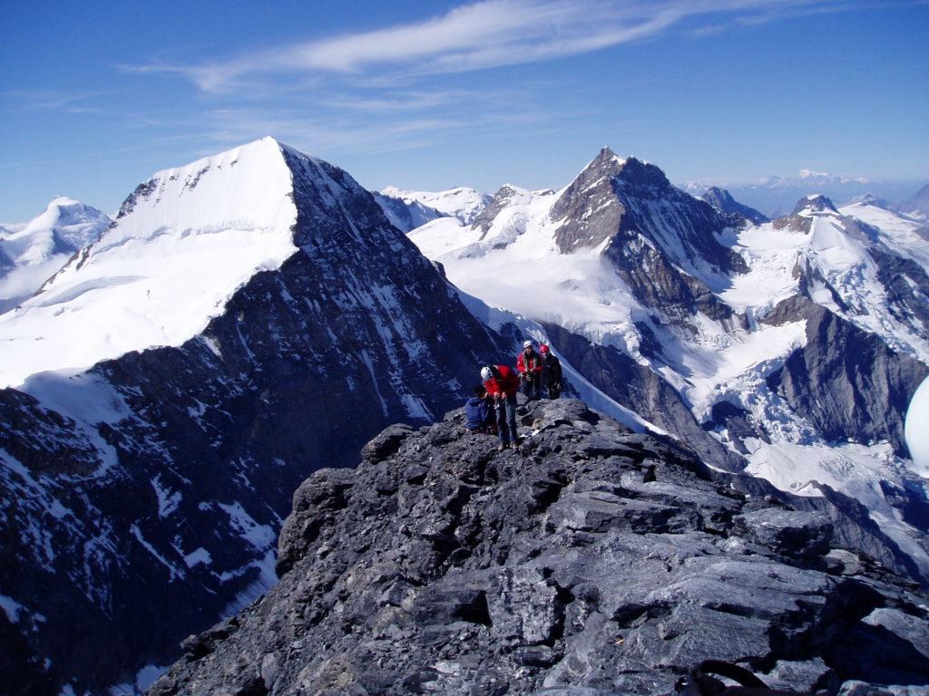 The Eiger - Mittellegi ridge