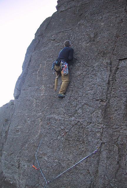 Phil on Glass Slipper Black Crag