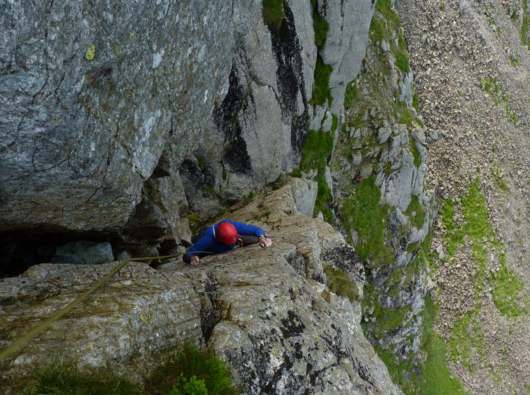Grooved Arete Pikes Crag